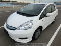 Used 2012 HONDA FIT SHUTTLE HYBRID BG622243 for Sale for Sale