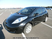 Used 2014 NISSAN LEAF BG650774 for Sale for Sale