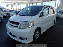 Used 2002 TOYOTA ALPHARD BG651589 for Sale for Sale