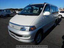 Used 1998 TOYOTA REGIUS WAGON BG651595 for Sale for Sale