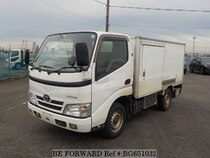 Used 2008 TOYOTA DYNA TRUCK BG651032 for Sale for Sale