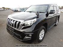 Used 2016 TOYOTA LAND CRUISER PRADO BG663826 for Sale for Sale
