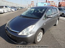 Used 2003 TOYOTA WISH BG665643 for Sale for Sale