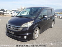 Used 2007 HONDA STEP WGN BG667741 for Sale for Sale