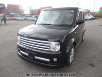 Used 2002 NISSAN CUBE BG671225 for Sale for Sale