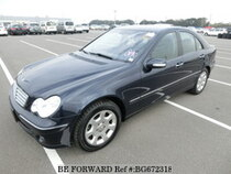 Used 2004 MERCEDES-BENZ C-CLASS BG672318 for Sale for Sale