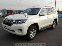 Used 2018 TOYOTA LAND CRUISER PRADO BG672404 for Sale for Sale