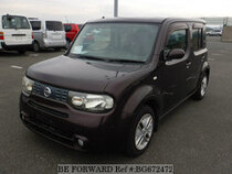 Used 2009 NISSAN CUBE BG672472 for Sale for Sale