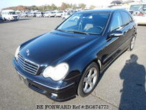 Used 2005 MERCEDES-BENZ C-CLASS BG674773 for Sale for Sale