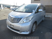 Used 2010 TOYOTA ALPHARD BG681609 for Sale for Sale