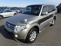 Used 2009 MITSUBISHI PAJERO BG682912 for Sale for Sale