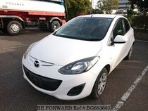 Used 2014 MAZDA DEMIO BG683663 for Sale for Sale