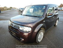 Used 2014 NISSAN CUBE BG683775 for Sale for Sale