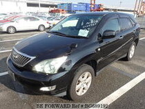 Used 2009 TOYOTA HARRIER BG689192 for Sale for Sale