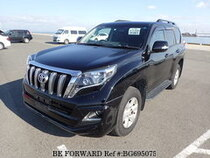 Used 2015 TOYOTA LAND CRUISER PRADO BG695075 for Sale for Sale