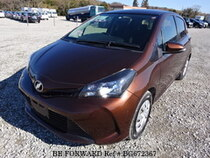Used 2015 TOYOTA VITZ BG672367 for Sale for Sale