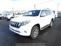 Used 2016 TOYOTA LAND CRUISER PRADO BG674624 for Sale for Sale