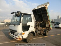 Used 2001 HINO RANGER BG693509 for Sale for Sale