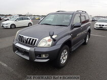 Used 2005 TOYOTA LAND CRUISER PRADO BG695926 for Sale for Sale