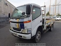 Used 2001 TOYOTA DYNA TRUCK BG710163 for Sale for Sale