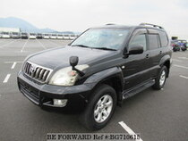 Used 2007 TOYOTA LAND CRUISER PRADO BG710615 for Sale for Sale