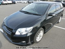 Used 2007 TOYOTA COROLLA FIELDER BG715391 for Sale for Sale