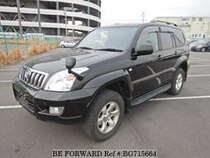 Used 2004 TOYOTA LAND CRUISER PRADO BG715664 for Sale for Sale