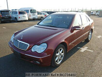 Used 2001 MERCEDES-BENZ C-CLASS BG716402 for Sale for Sale