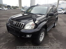 Used 2007 TOYOTA LAND CRUISER PRADO BG718506 for Sale for Sale