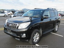 Used 2010 TOYOTA LAND CRUISER PRADO BG720886 for Sale for Sale