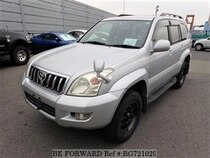 Used 2005 TOYOTA LAND CRUISER PRADO BG721029 for Sale for Sale