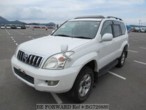 Used 2004 TOYOTA LAND CRUISER PRADO BG720889 for Sale for Sale