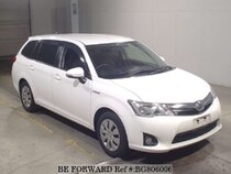 Used 2015 TOYOTA COROLLA FIELDER BG806006 for Sale for Sale
