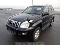 Used 2005 TOYOTA LAND CRUISER PRADO BG805799 for Sale for Sale