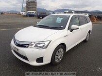 Used 2015 TOYOTA COROLLA FIELDER BG805899 for Sale for Sale