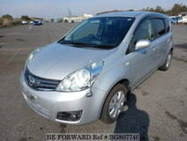 Used 2012 NISSAN NOTE BG807740 for Sale for Sale
