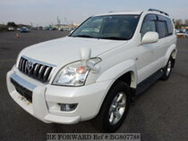 Used 2005 TOYOTA LAND CRUISER PRADO BG807788 for Sale for Sale