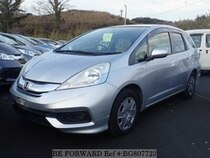 Used 2014 HONDA FIT SHUTTLE HYBRID BG807723 for Sale for Sale