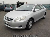 Used 2008 TOYOTA COROLLA AXIO BG809597 for Sale for Sale