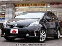Used 2013 TOYOTA PRIUS ALPHA BG815733 for Sale for Sale