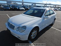 Used 2001 MERCEDES-BENZ C-CLASS BG815633 for Sale for Sale
