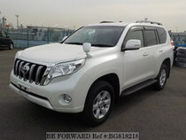 Used 2015 TOYOTA LAND CRUISER PRADO BG818218 for Sale for Sale
