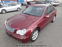 Used 2002 MERCEDES-BENZ C-CLASS BG820773 for Sale for Sale