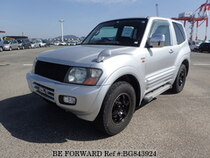 Used 2001 MITSUBISHI PAJERO BG843924 for Sale for Sale