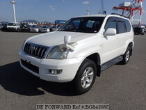 Used 2007 TOYOTA LAND CRUISER PRADO BG843885 for Sale for Sale