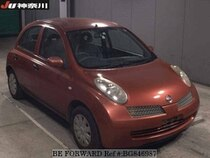 Used 2004 NISSAN MARCH BG846987 for Sale for Sale