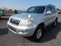 Used 2005 TOYOTA LAND CRUISER PRADO BG847383 for Sale for Sale