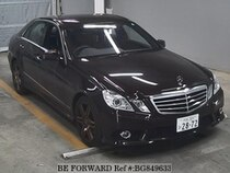 Used 2009 MERCEDES-BENZ E-CLASS BG849633 for Sale for Sale