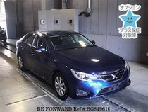 Used 2016 TOYOTA MARK X BG849610 for Sale for Sale