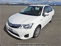 Used 2015 TOYOTA COROLLA AXIO BG853908 for Sale for Sale